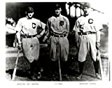 Shoeless Joe Jackson Ty Cobb Nap Lajoie Vintage 8x10 Photo - Mint Condition