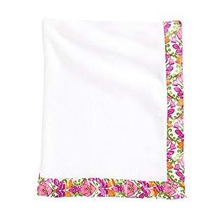 Amazon Com Vera Bradley Baby Plush Blanket In Lilli Bell
