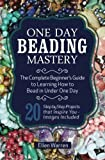 One Day Beading Mastery: The Complete Beginner's Guide to Learn How to Bead in Under One Day -10 Step by Step Bead Projects That Inspire You - Images Included by Ellen Warren (2015-11-12)