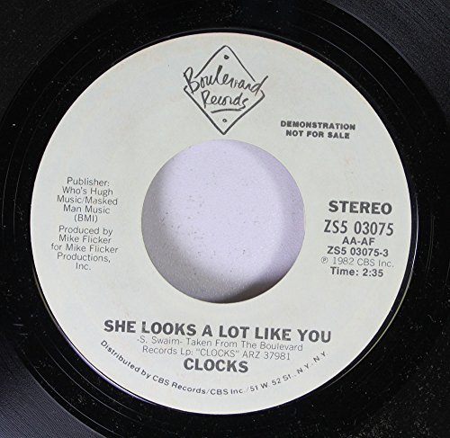 She Looks A Lot Like You/Feeling This Way (45 rpm record) by Clocks