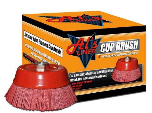 Al's Liner ALS-CB6 6-Inch Nylon Cup Brush SCPU1