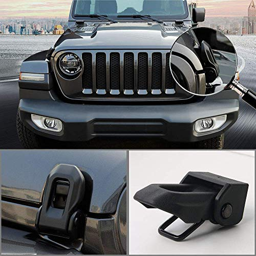 Super repairman 2019 Jeep Wrangler JL OEM Original Hood Latch Hood Catch for 2007-2019 Jeep Wrangler JK JL