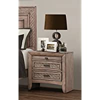 Acme Furniture 26033 Ireton Nightstand , Caramel