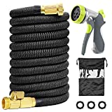 Acepstar 100ft Expandable Garden Hose, Strongest Expandable Water Hose with Double Latex Core