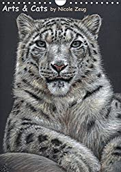 Arts & Cats (Wandkalender 2015 DIN A4 hoch): Katzenporträts by Nicole Zeug (Monatskalender, 14 Seiten)