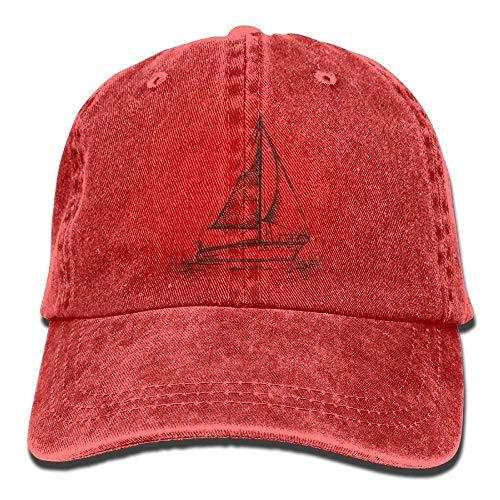 Adjustable Sailboat Denim Female Yuting Baseball Flag Hat Gorras Caps béisbol AwWqSP
