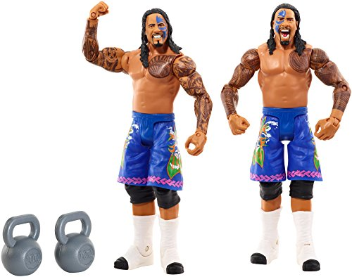 WWE Figure 2-Pack, Jey Uso & Jimmy Uso (Wwe The Usos Action Figures)