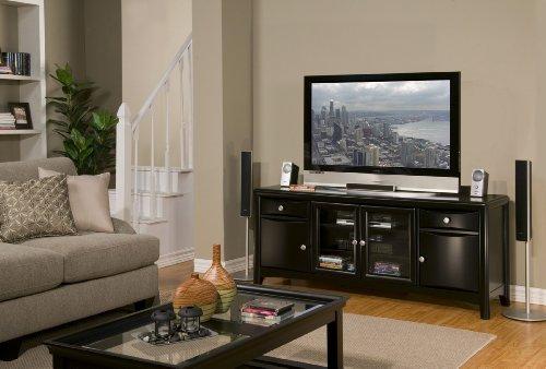 Alpine Furniture Laguna 72 in. TV Console - Dark Espresso