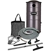 VacuMaid UV150GKP Extended Life Professional Wall Mounted Utility Vacuum 50 ft. Garage Kit Pro