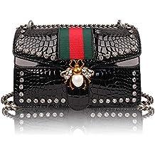 Beatfull Designer Shoulder Bag for Women, Fashion Bee Crossbody Bag Handbags with Chain