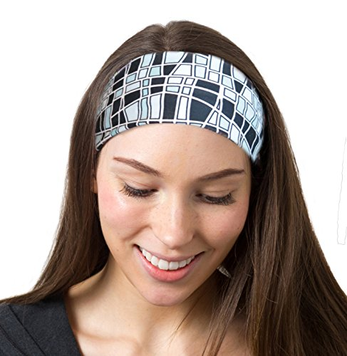 Mosaic Black Headband - True Tiffany Love
