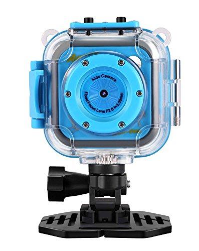 (GAKOV GACD WiFi 1080P 2MP Underwater Kids Camera 20m Waterproof Sports Camera for Kids)