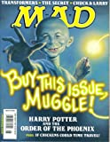 Mad Magazine Issue #480: Harry Potter and the Order of the Phoenix (August 2007)