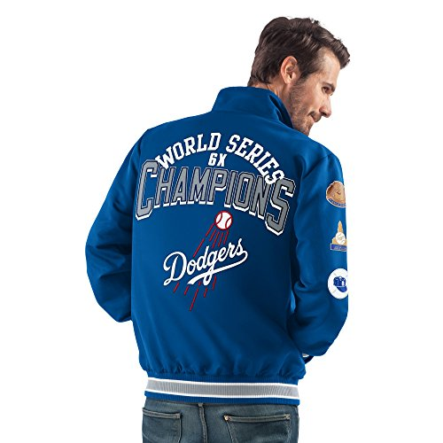 G-III Sports Los Angeles Dodgers Mid Weight World Series Championship Jacket