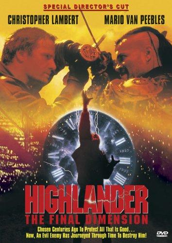 Highlander Final Dimension Special Directors product image