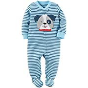 Carter's Baby Boys' Interlock 115g225, Blue, 9 Months