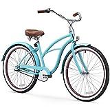 Sixthreezero Bicicleta de Playa para Mujer, Ruedas de 26 Pulgadas/Marco de 17 Pulgadas