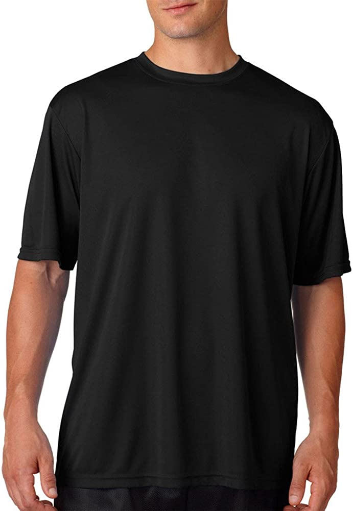 A4 Adult Cooling Performance T-Shirt, Blk, Large