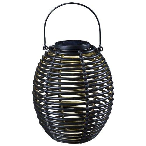 Kenroy Home 60530RAT Coil Solar Lantern, Black by Kenroy Home