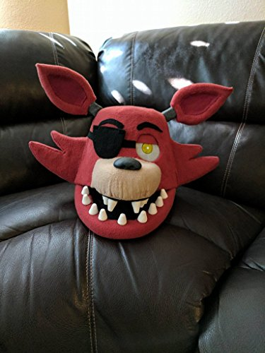 Foxy, Five Nights at Freddy's Costume Mask by Morsbane Goods