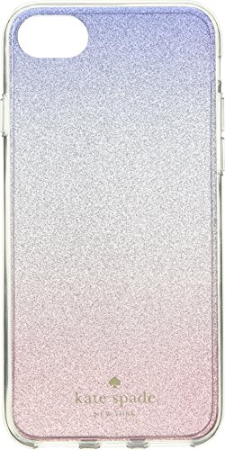 Kate Spade New York Sunset Glitter Ombre iPhone 8/7 Case, Pink Multi, iPhone 8