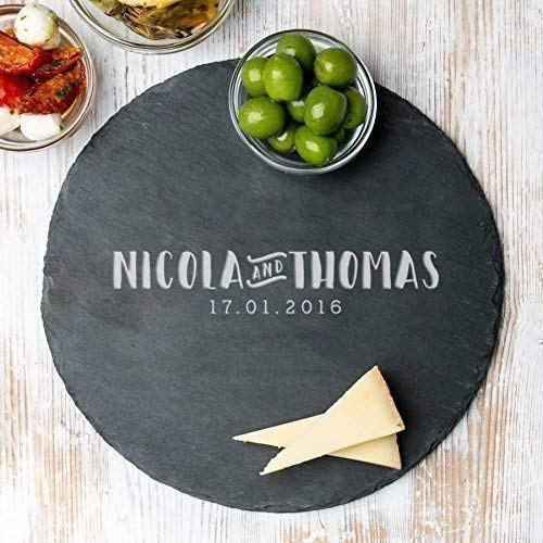 Personalized Cutting Board - Personalized Kitchen Gifts - Housewarming Gifts for the Couple - Engagement Gifts for Couples - Name Engraved Gifts - Personalized Anniversary Gifts for Women