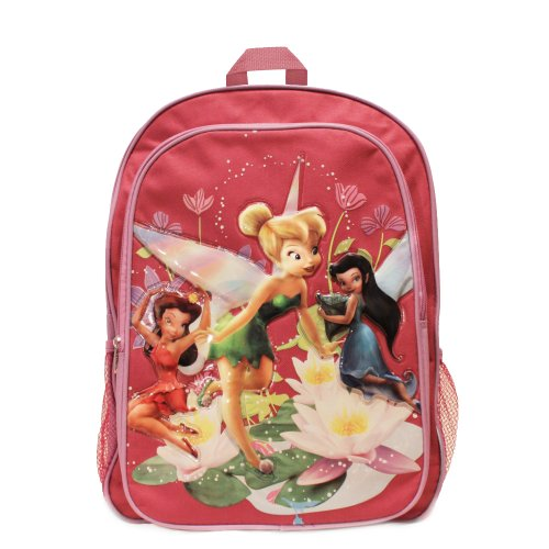 Disney Fairies Large Pink Backpack (Tinkerbell Items)