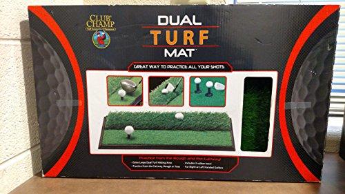 JEF World Of Golf 9182 Dual Turf Mat by JEF WORLD OF GOLF
