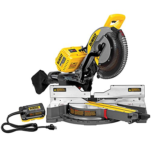 DEWALT DHS790AB FLEXVOLT 120V MAX Double Bevel Compound Sliding Miter Saw with Adapter Only (Tool/Adapter Only)