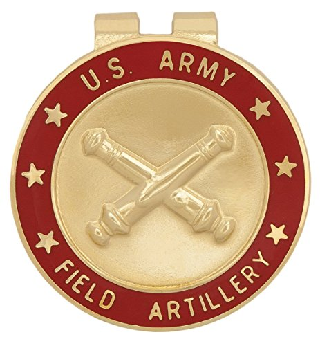 U.S. Army Field Artillery FA Branch Of Service Money Clip ()