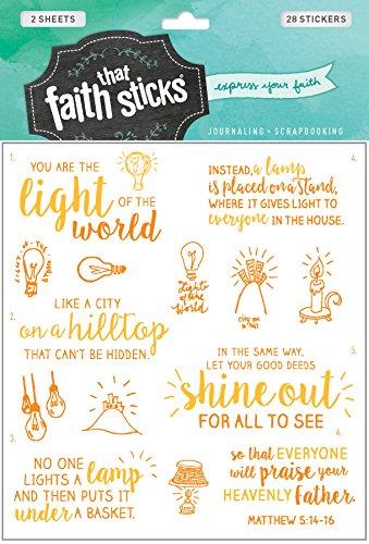 Matthew 5:14-16 (Faith That Sticks Stickers)