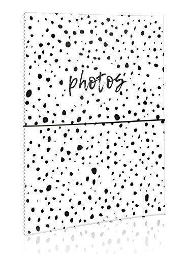 Black Spots Slip In Photo Album Each Holds 40 Photos 6