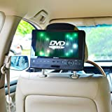 TFY Car Headrest Mount for Swivel & Flip DVD Player-10 Inch