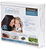 Certified Bedbug Proof Mattress Encasement 12''-15'' Queen -10 Year Mfg Warranty !