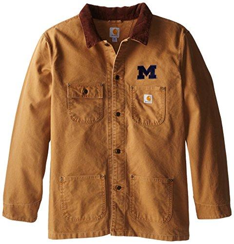 NCAA Michigan Wolverines Boy s Verwitterte pflanzengießen Coat