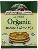 Maple Grove Farms Of Vermont, Organic  Pancake & Waffle Mix, 16-Ounce Boxes (Pack of 8)