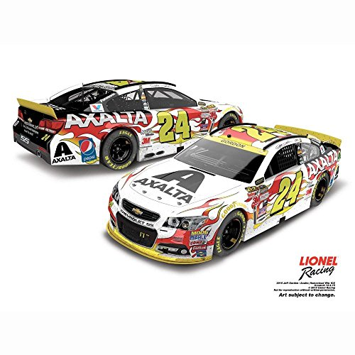 Lionel Racing Jeff Gordon No. 24 Axalta Coating Systems Homestead Raced Version 2015 NASCAR Sprint Cup Series Store Exclusive Finish 1:24 - Stores Homestead