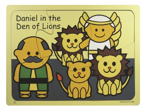 Puzzle-Daniel In The Lions Den/Wooden