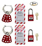 Mason Lockout Tagout Personal Starter Kit 2 PACK, Red Keyed Differently LOTO