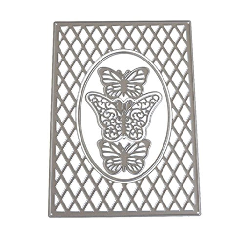 A 2019 Newest Angel Metal Die Cutting Dies Handmade Stencils Template Embossing for Card Scrapbooking Craft Paper Decor by E-Scenery