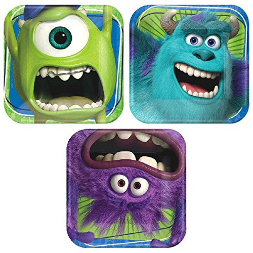 monster inc plate - 8