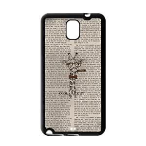 Danny Store Giraffe Protective Gel Rubber Back Fits Cover Case for SamSung Galaxy Note 3