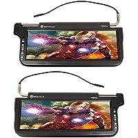 (2) Rockville RPSV12-BK 12.1 Black Car Sun Visor Monitors/High Definition!