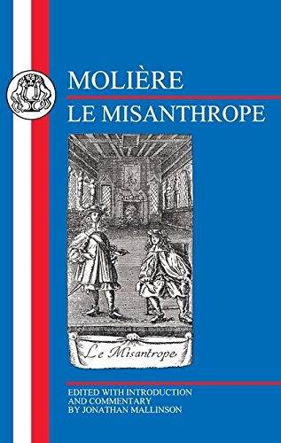 Molière: Le Misanthrope (French Texts)