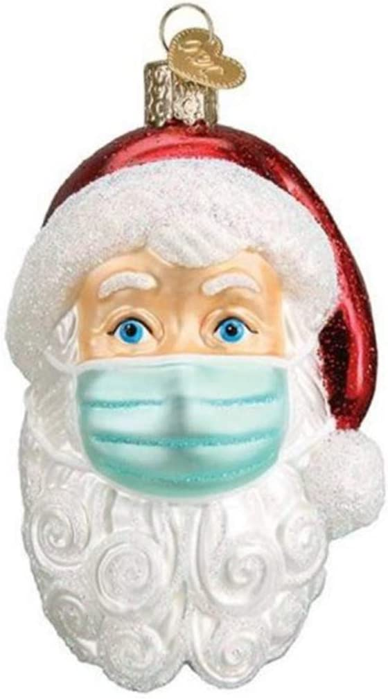 2020 Christmas Party Decoration Gift Santa Claus With Mask Hanging Ornament UK