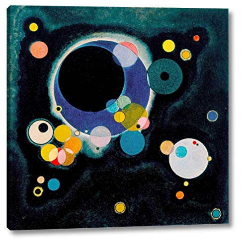 Sketch for Several Circles by Wassily Kandinsky - 19