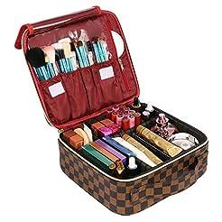 WODKEIS Makeup Case Cosmetic Bag Profess...