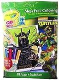 Crayola Color Wonder Mess Free Coloring Teenage Mutant Ninja Turtles