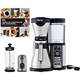 Ninja Coffee Bar, Carafe, Frother, Recipes & Grinder (Certified Refurbished)