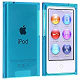 Everydaysource® Compatible with Apple® iPod® nano® 7th Generation Snap-on Slim Case, Clear Blue
